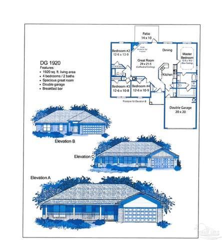 5632 Fawcett St, Milton, FL 32570 (MLS #593951) :: Coldwell Banker Coastal Realty