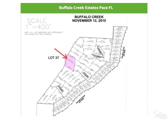 Lot 37 Ten Mile Rd, Pace, FL 32571 (MLS #594350) :: Coldwell Banker Coastal Realty