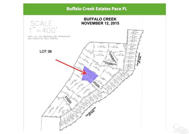 LOT 38 Ten Mile Rd, Pace, FL 32571 (MLS #594413) :: The Kathy Justice Team - Better Homes and Gardens Real Estate Main Street Properties