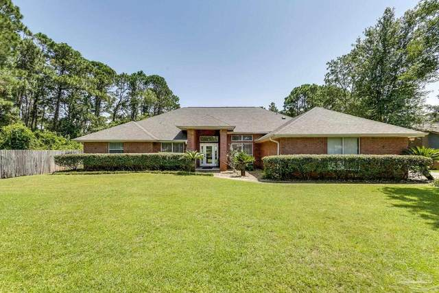 2873 Whisper Lake Dr, Gulf Breeze, FL 32563 (MLS #596885) :: The Kathy Justice Team - Better Homes and Gardens Real Estate Main Street Properties