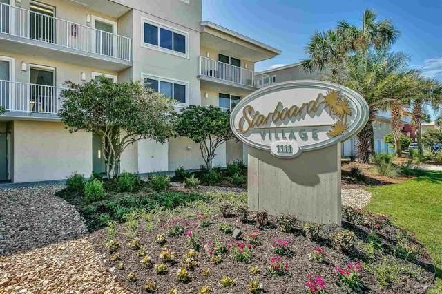 1111 Ft Pickens Rd #312, Pensacola Beach, FL 32561 (MLS #597133) :: Coldwell Banker Coastal Realty