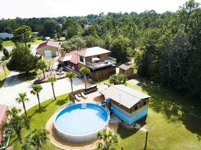 8828 Turkey Bluff Rd, Navarre, FL 32566 (MLS #597390) :: Levin Rinke Realty