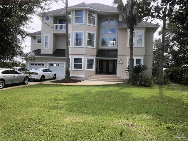 4507 Brickyard Bayou Rd, Gulf Breeze, FL 32563 (MLS #598517) :: Crye-Leike Gulf Coast Real Estate & Vacation Rentals