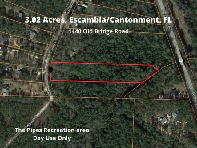 1440 Old Bridge Rd, Cantonment, FL 32533 (MLS #575388) :: Levin Rinke Realty