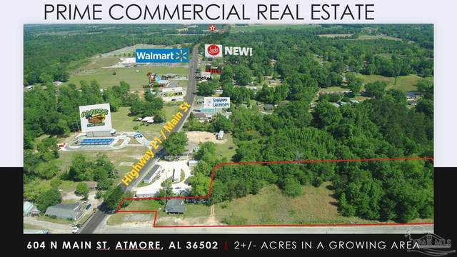 604 N Main St, Atmore, AL 36502 (MLS #583418) :: Connell & Company Realty, Inc.