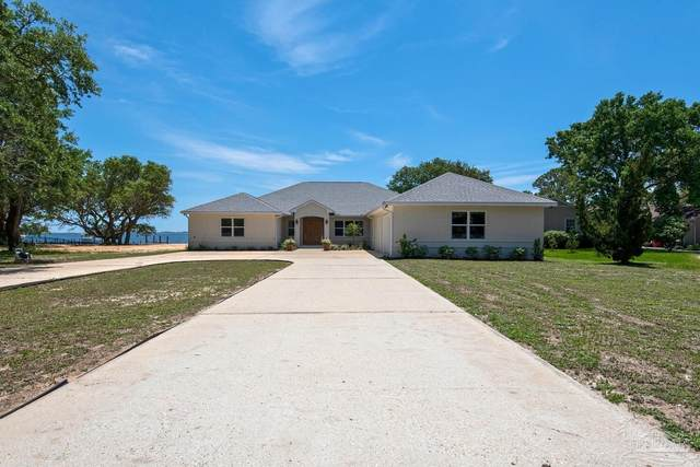 4421 Soundside Dr, Gulf Breeze, FL 32563 (MLS #590093) :: Connell & Company Realty, Inc.