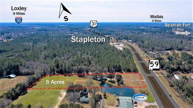 36180 State Highway 59, STAPLETON, AL 36578 (MLS #567720) :: Levin Rinke Realty