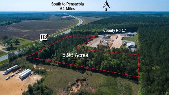 001 Hwy 113, Flomaton, AL 36426 (MLS #570542) :: Coldwell Banker Coastal Realty