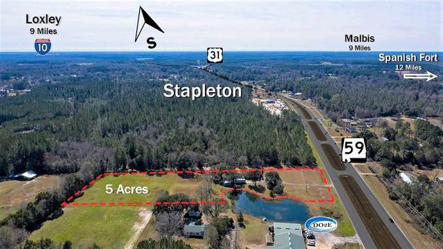 36180 State Highway 59, STAPLETON, AL 36578 (MLS #567720) :: Coldwell Banker Coastal Realty