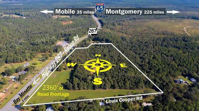 0 Hwy 287, Bay Minette, AL 36507 (MLS #573674) :: Levin Rinke Realty