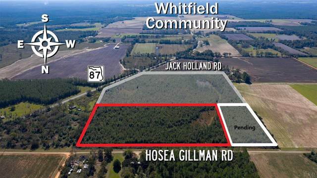 0 Hosea Gillman Rd, Milton, FL 32570 (MLS #576251) :: Connell & Company Realty, Inc.
