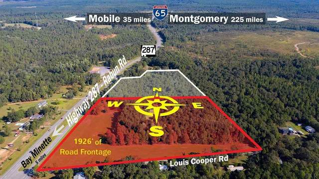 2 Hwy 287, Bay Minette, AL 36507 (MLS #567549) :: Connell & Company Realty, Inc.