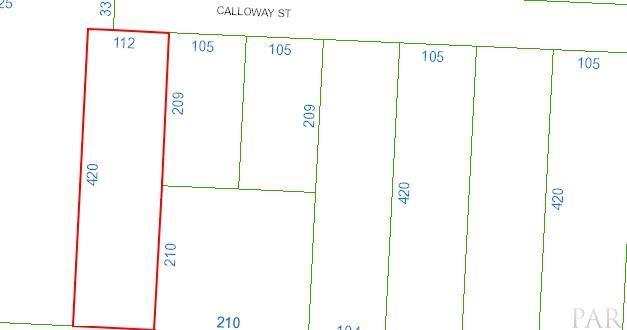 0 Calloway St, Cantonment, FL 32533 (MLS #524236) :: Levin Rinke Realty