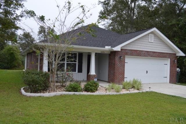2476 Bentley Oaks Dr, Cantonment, FL 32533 (MLS #525543) :: Coldwell Banker Seaside Realty