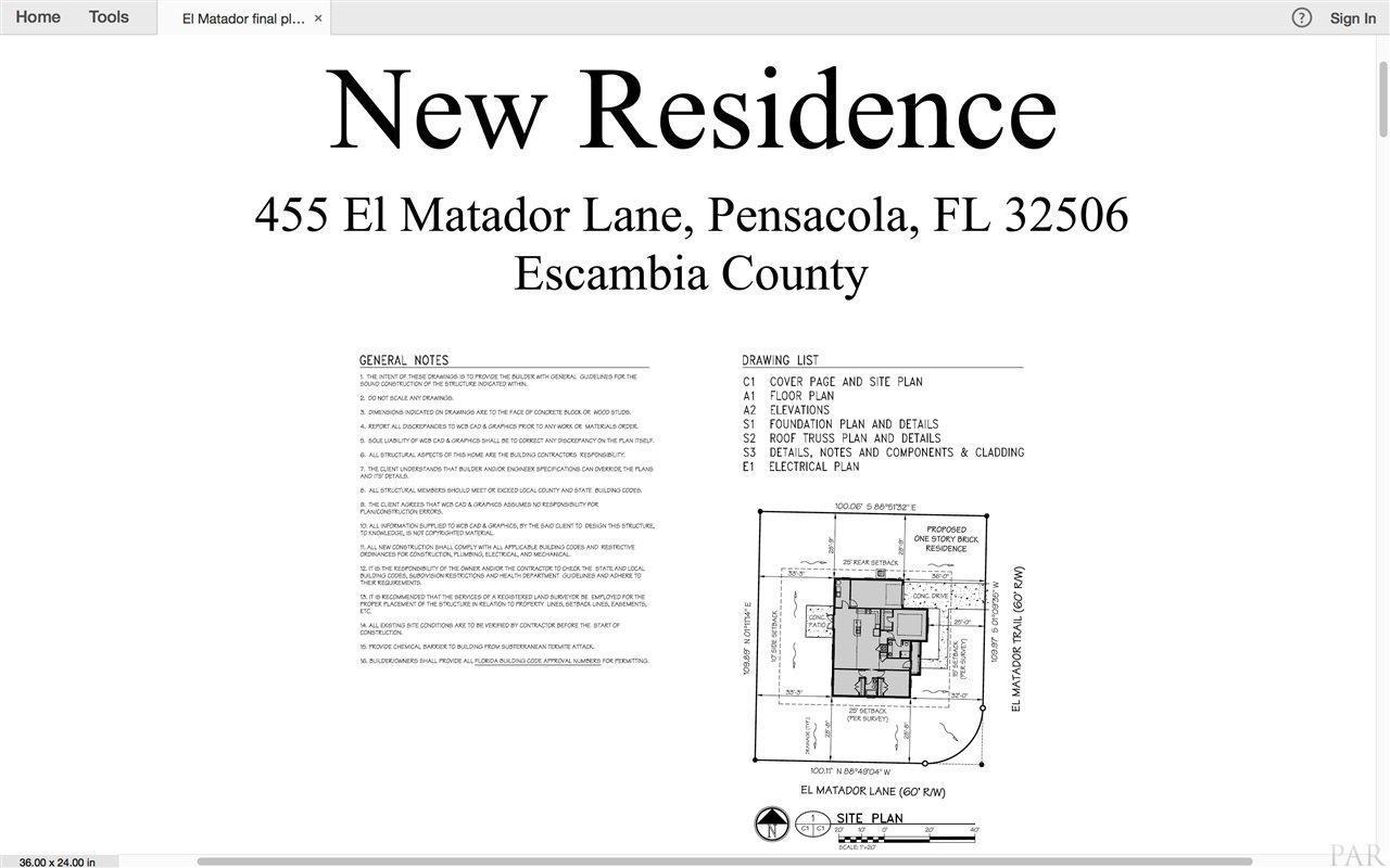 455 El Matador Trl, Pensacola, FL 32506 (MLS #540045) :: Levin Rinke ...