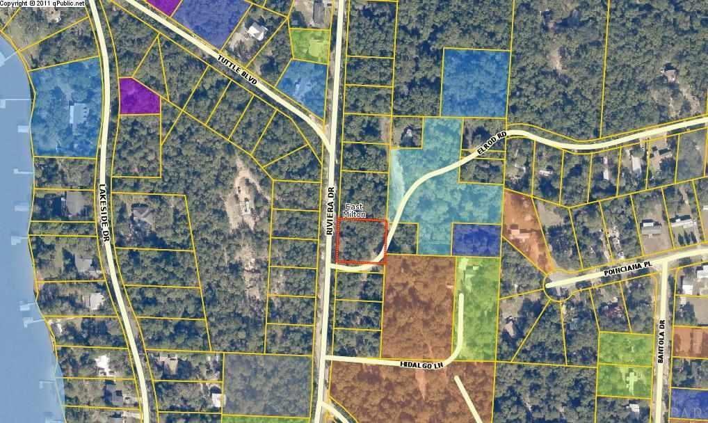 Milton Florida Map.000 Riviera Dr Milton Fl 32583 Mls 545965 Levin Rinke Realty