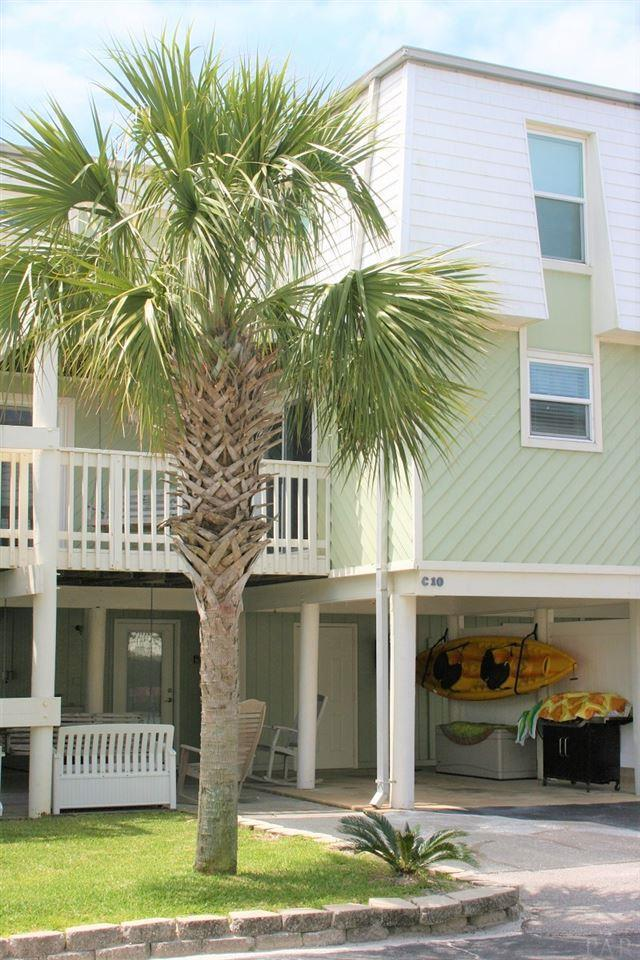 1100 Ft Pickens Rd C-10, Pensacola Beach, FL 32561 (MLS #553652) :: ResortQuest Real Estate
