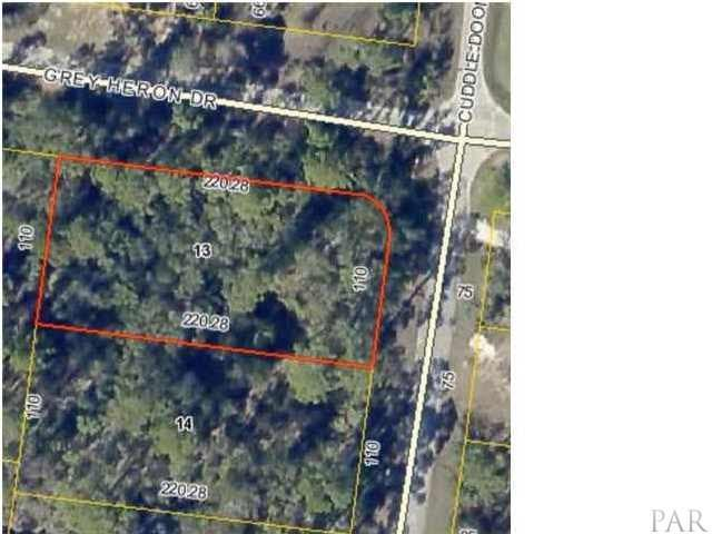 lot 13 A Cuddle Doon, Milton, FL 32583 (MLS #553913) :: ResortQuest Real Estate