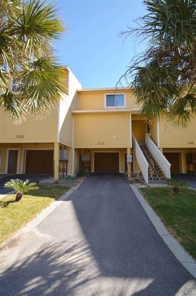 1500 Via Deluna Dr G-13, Pensacola Beach, FL 32561 (MLS #565891) :: ResortQuest Real Estate