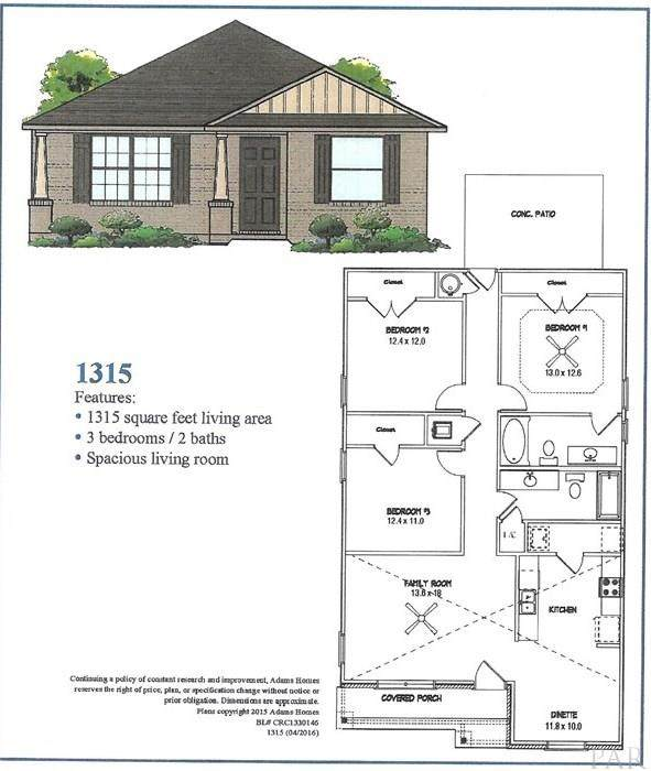 351 Cardinal Cove Ct, Pensacola, FL 32504 (MLS #577209) :: Connell & Company Realty, Inc.