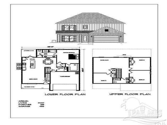 1982 Cambridge Park Dr, Gulf Breeze, FL 32563 (MLS #582943) :: Connell & Company Realty, Inc.