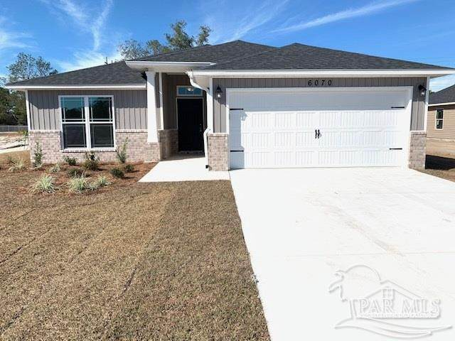 6315 Redberry Dr, Gulf Breeze, FL 32563 (MLS #594471) :: Coldwell Banker Coastal Realty