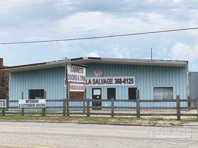 507 N Main St, Atmore, AL 36502 (MLS #598646) :: Levin Rinke Realty