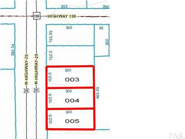 00 Hwy 29, Molino, FL 32577 (MLS #424566) :: Levin Rinke Realty