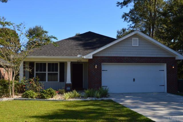 2476 Bentley Oaks Dr, Cantonment, FL 32533 (MLS #525543) :: Levin Rinke Realty