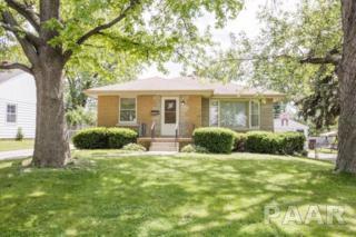 1106 W Northcrest Avenue, Peoria, IL 61614 (#1184162) :: Adam Merrick Real Estate