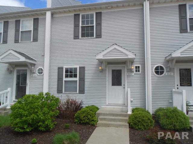 3337 King James Court #3337, Peoria, IL 61615 (#1172963) :: Adam Merrick Real Estate