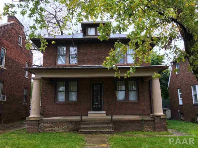 2014 N Sheridan, Peoria, IL 61604 (#1178060) :: Adam Merrick Real Estate