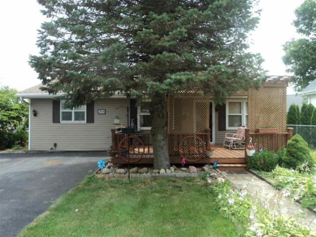 208 N Runkle, Hanna City, IL 61536 (#1185461) :: Adam Merrick Real Estate
