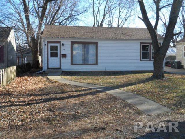 514 N Fifth, Chillicothe, IL 61523 (#1190170) :: Adam Merrick Real Estate