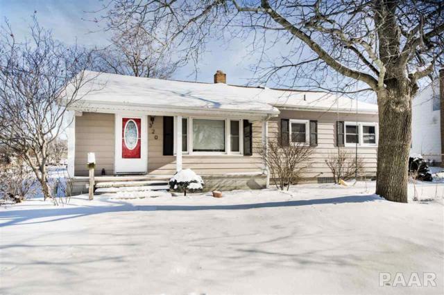 320 N Tazewell, Metamora, IL 61548 (#1190412) :: Adam Merrick Real Estate
