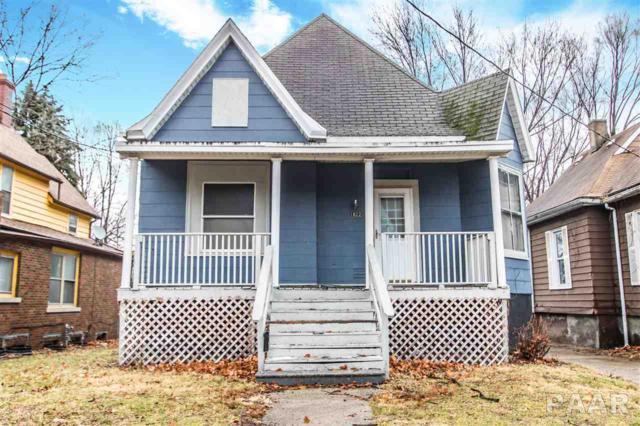 1822 N Peoria Avenue, Peoria, IL 61603 (#1190886) :: Adam Merrick Real Estate