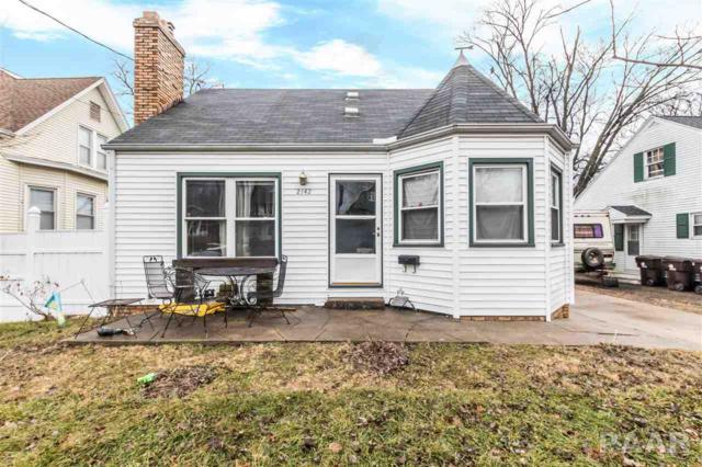 2142 N Prospect Road, Peoria, IL 61603 (#1191590) :: Adam Merrick Real Estate