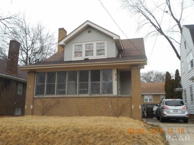 413 E Archer, Peoria, IL 61603 (#1191872) :: Adam Merrick Real Estate