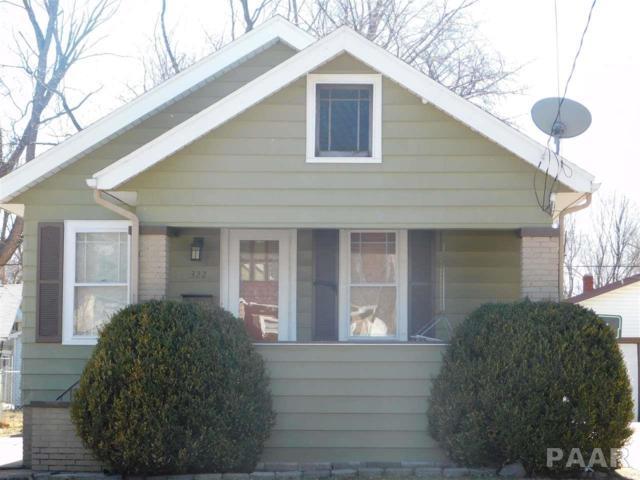 322 E Forrest Hill, Peoria, IL 61603 (#1191957) :: Adam Merrick Real Estate