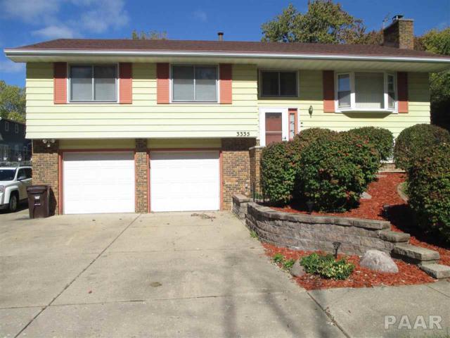 3335 W Brookside Drive, Peoria, IL 61615 (#1199154) :: Adam Merrick Real Estate