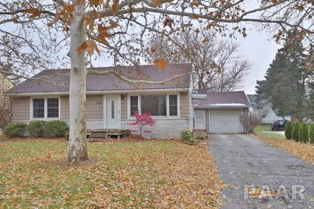 503 W Garfield Avenue, Bartonville, IL 61607 (#1199919) :: Adam Merrick Real Estate