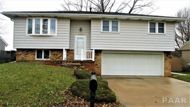 4511 S Baker Lane, Bartonville, IL 61607 (#1200842) :: Adam Merrick Real Estate
