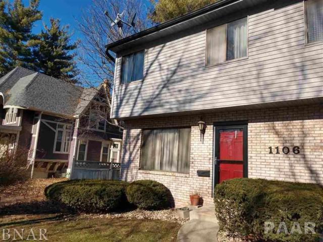 1106 #5 E Jefferson, Bloomington, IL 61701 (#1201305) :: Adam Merrick Real Estate