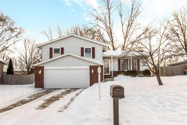 109 Justice Drive, East Peoria, IL 61611 (#1201341) :: Adam Merrick Real Estate