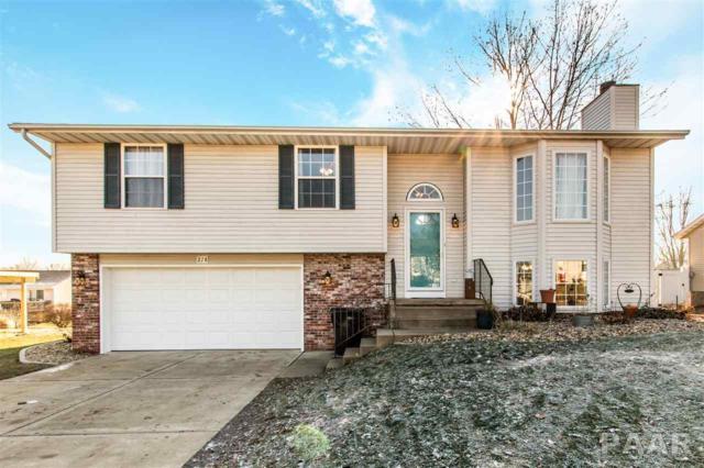 218 Justice Drive, East Peoria, IL 61611 (#1201463) :: Adam Merrick Real Estate
