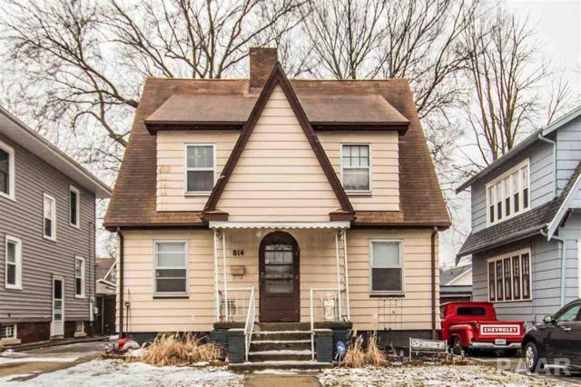814 W Meadows, Peoria, IL 61604 (#PA1201667) :: Adam Merrick Real Estate