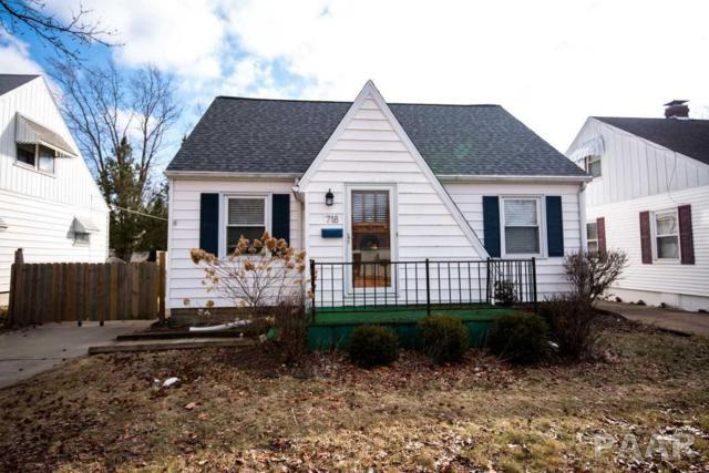 718 W Bartlett Court, Peoria, IL 61604 (#1201798) :: Adam Merrick Real Estate