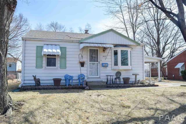 1412 N 12TH Street, Pekin, IL 61554 (#1202639) :: Adam Merrick Real Estate