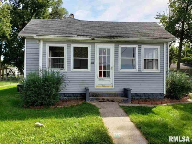 304 E 4TH Street, Pleasant Plains, IL 62677 (#CA2321) :: Killebrew - Real Estate Group