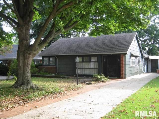 2516 S Whittier Avenue, Springfield, IL 62704 (#CA2431) :: Adam Merrick Real Estate